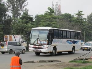 Lumbering Bus
