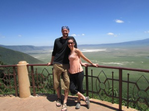 Our back yard,  the Ngorogoro Crater